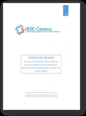 Role of Mandates Lit Review