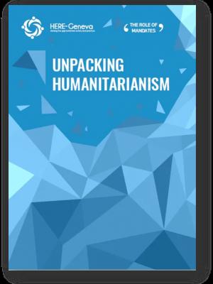 Unpacking humanitarianism cover